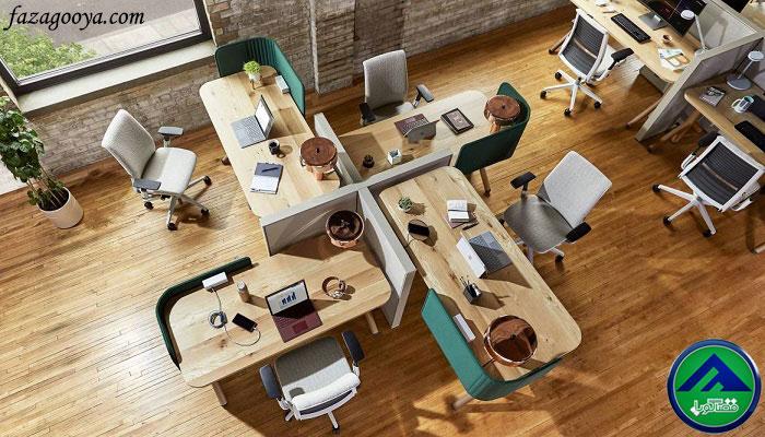 ارتفاع استاندارد میز کارشناسی و کارمندی، میز مدیریت و میز منشی